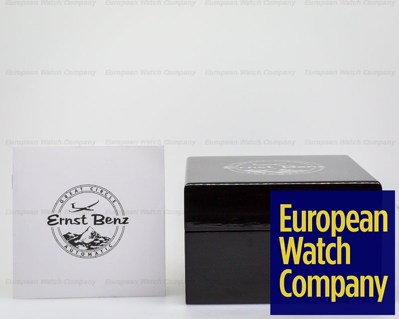 Ernst Benz GC10410-JV/1 Chronoscope John Varvatos Black Vintage SS