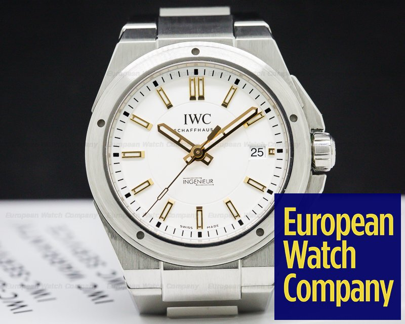 IWC IW323906 Ingenieur Automatic Silver Dial SS