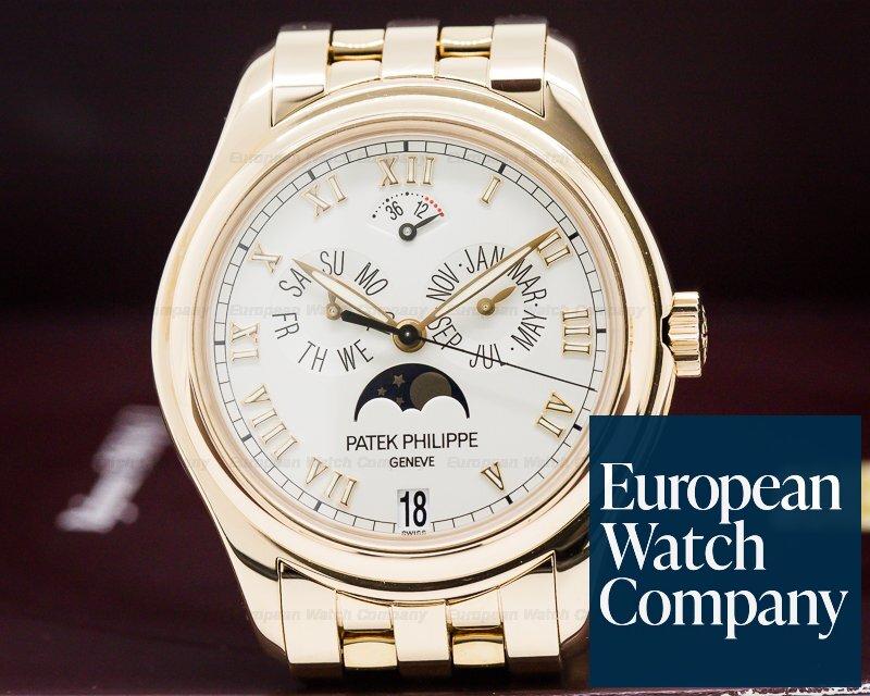 Patek Philippe 5036/1R-001 Annual Calendar Moonphase 18K Rose Gold / Bracelet