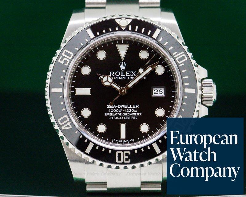 Rolex 116600 Sea Dweller 4000 SS/SS DISCONTINUED UNWORN
