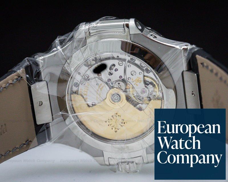 Patek Philippe 5726A-001 Nautilus Annual Calendar Moon SS Grey Dial UNWORN