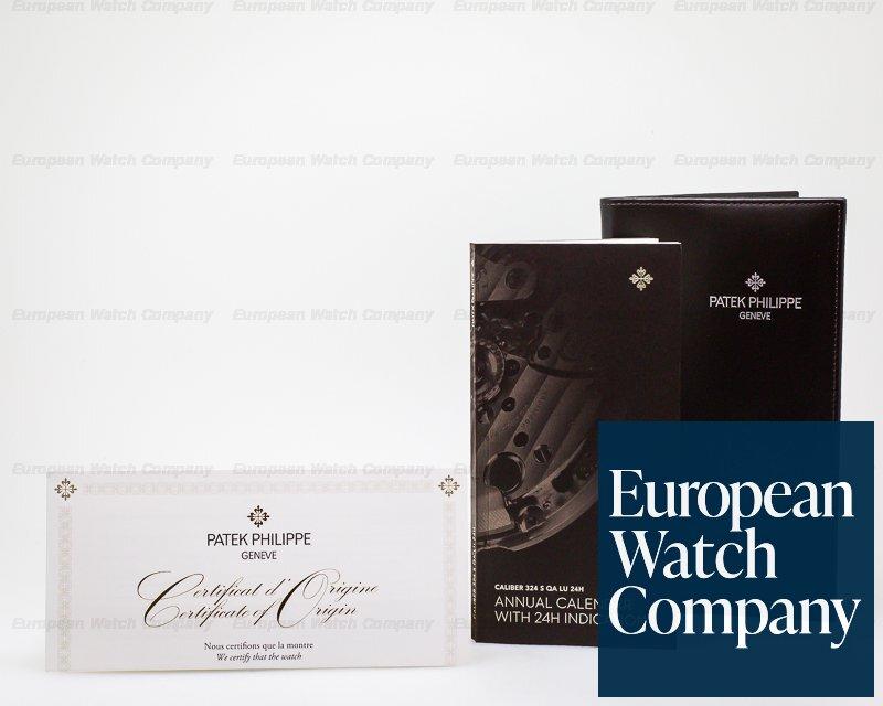Patek Philippe 5396G-011 Annual Calendar Silver Dial 18K White Gold