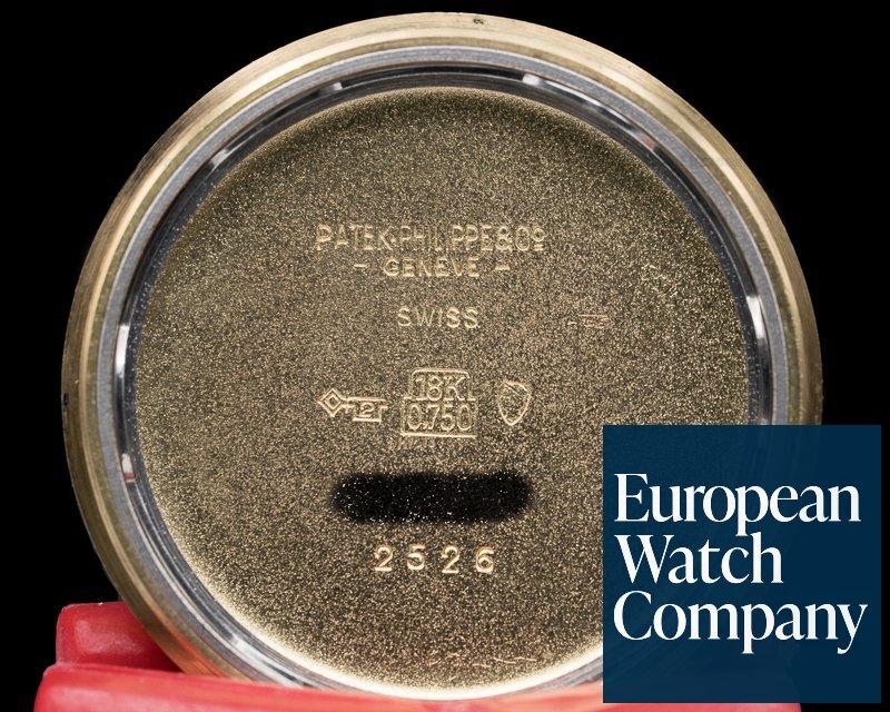 Patek Philippe 2526 Calatrava Automatic Enamel Dial GUBELIN SIGNED 1st Series