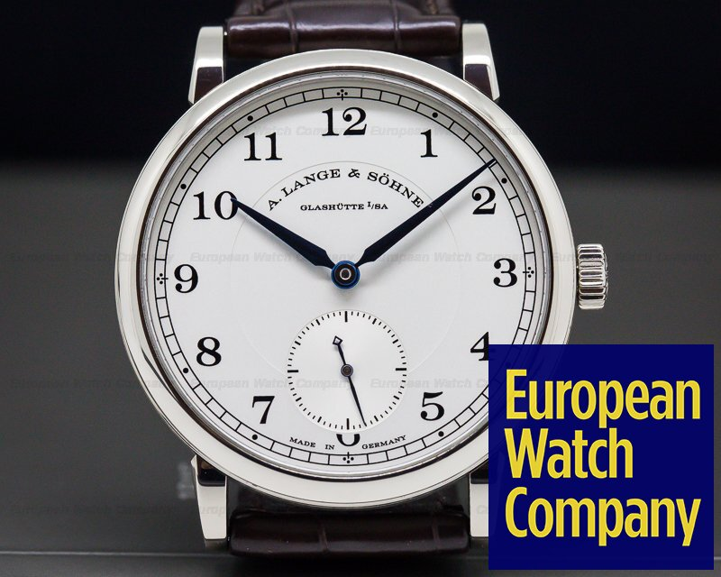A. Lange and Sohne 235.026 1815 18K White Gold Silver Dial