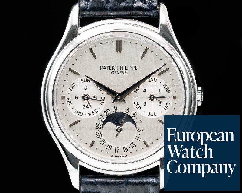 Patek Philippe 3940P-011 Perpetual Calendar Platinum FULL SET / PP Service