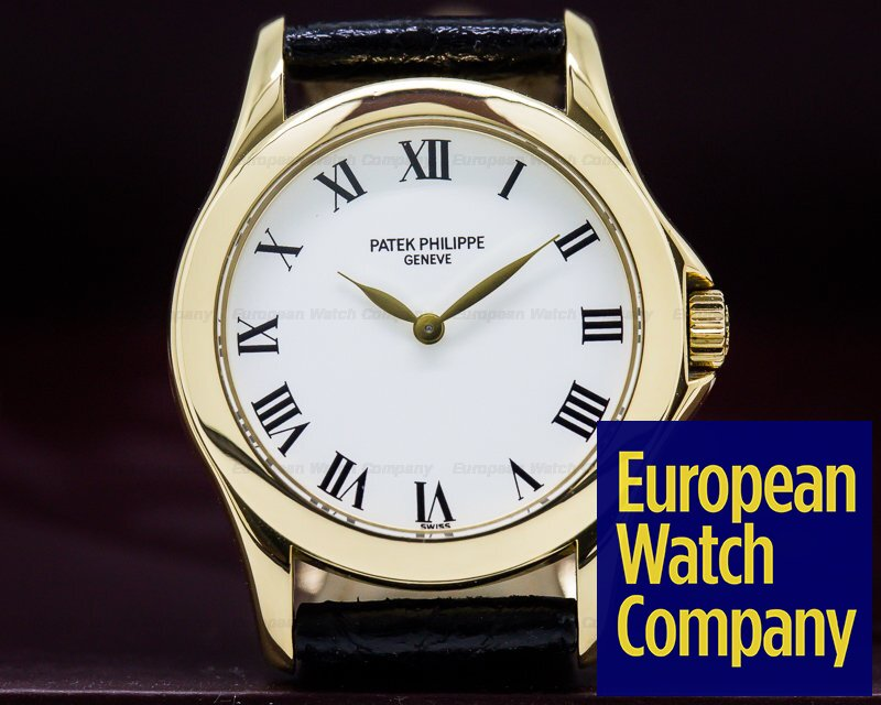Patek Philippe 4905J Lady Calatrava Manual Wind 18K Yellow Gold
