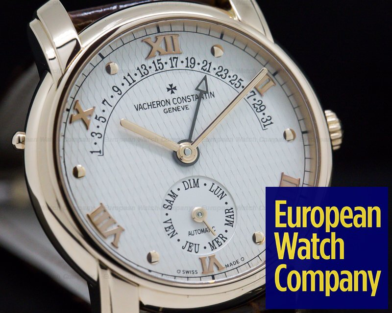 Vacheron Constantin 47245/000R Patrimony 31 Day Retrograde 18K Rose Gold