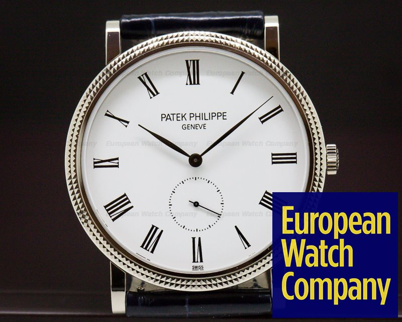 Patek Philippe 5119G-001 Calatrava 18K White Gold