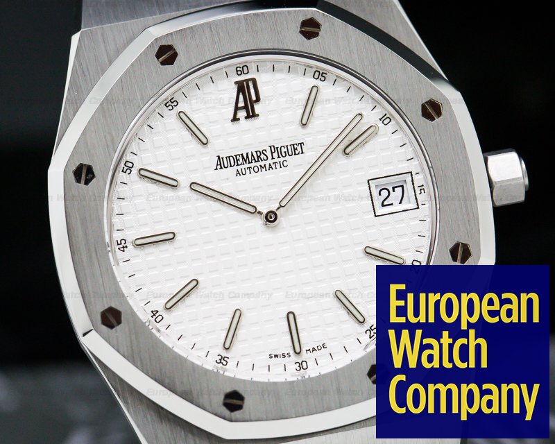 Audemars Piguet 15202ST.OO.0944ST.01 Royal Oak Jumbo White Dial VERY NICE