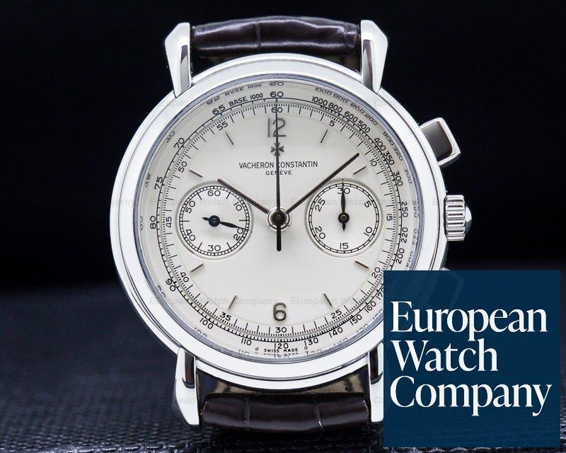 Vacheron Constantin 47101/1 Les Historiques Chronograph Platinum COMPLETE