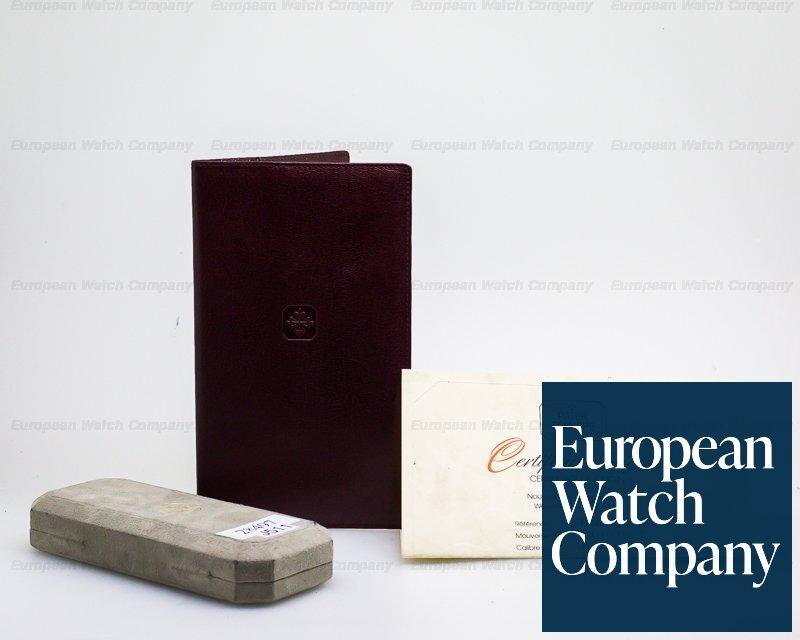 Patek Philippe 3520 Calatrava 18K Yellow Gold Manual Wind Silver Roman Dial