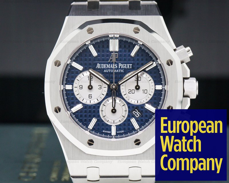 Audemars Piguet 26331ST.OO.1220ST.01 Royal Oak Chronograph blue Dial SS 41mm NEW STYLE