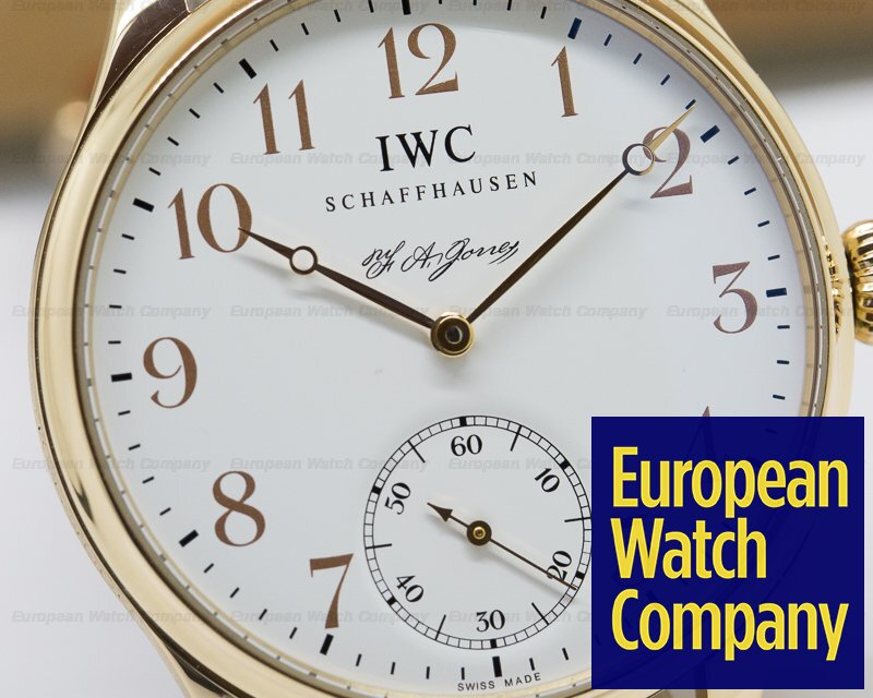 IWC IW544201 Portuguese FA Jones Limited Edition 18K Rose Gold