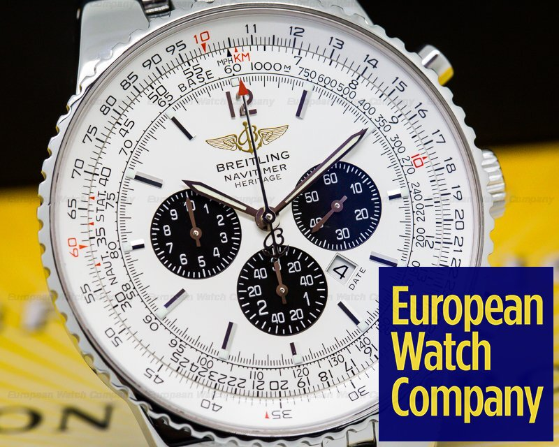 Breitling A3534012/G511 Navitimer Heritage Flyback Chronograph SS / SS