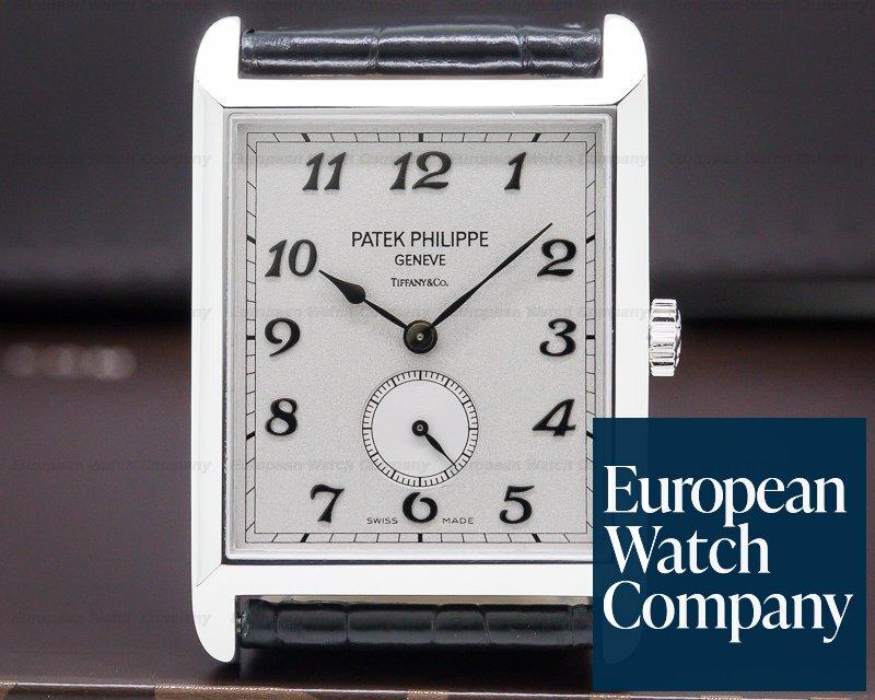 "Patek Philippe 5109G Gondolo 5109 ""TIFFANY & CO"" 18K White Gold"