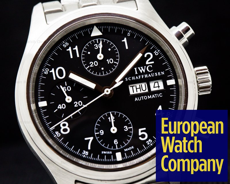 IWC IW370607 Pilot Chronograph Black Dial SS / SS