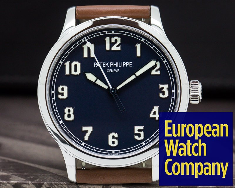 "Patek Philippe 5522A-001 Pilot Calatrava Steel ""New York"" Limited Edition UNWORN"