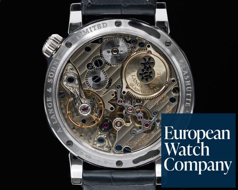A. Lange and Sohne 140.025 Zeitwerk Platinum Limited
