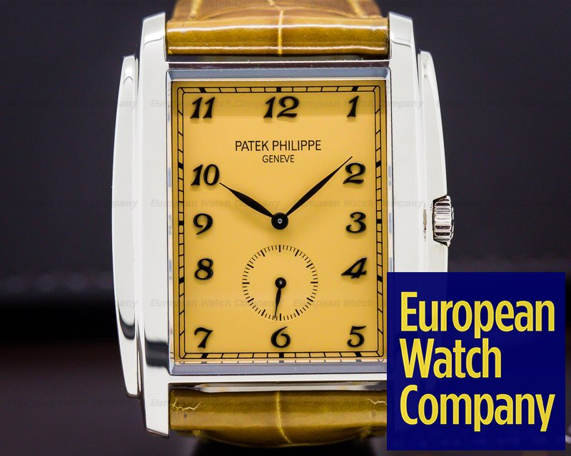 Patek Philippe 5124G-001 Gondolo 18K White Gold Manual Wind