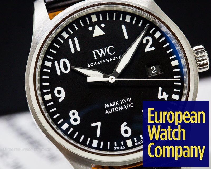 IWC IW327001 Mark XVIII Black Dial SS