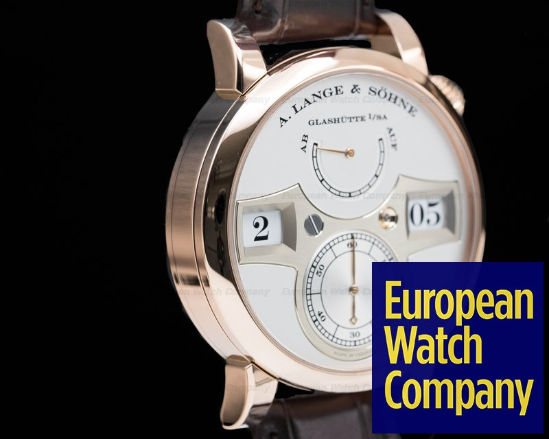 A. Lange and Sohne 140.032 Zeitwerk 18K Rose Gold