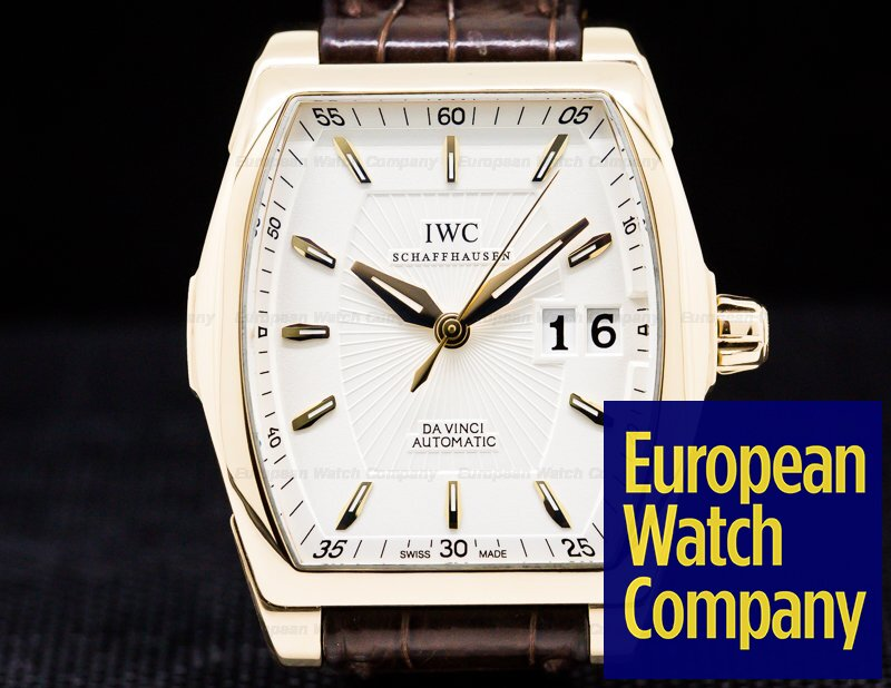 IWC IW452302 Da Vinci Automatic 18K Gold / Deployant