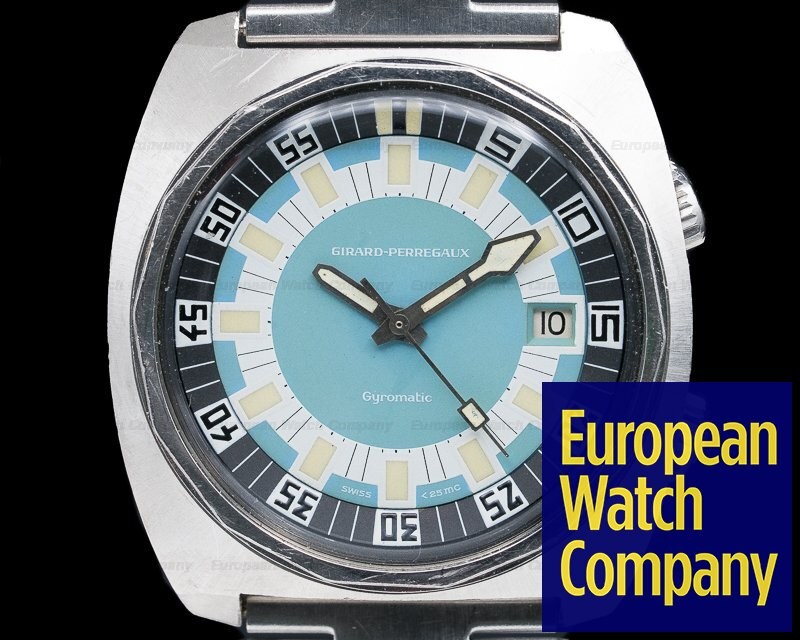 Girard Perregaux 7933/66 Deep Diver SS Original Bracelet EXCELLENT