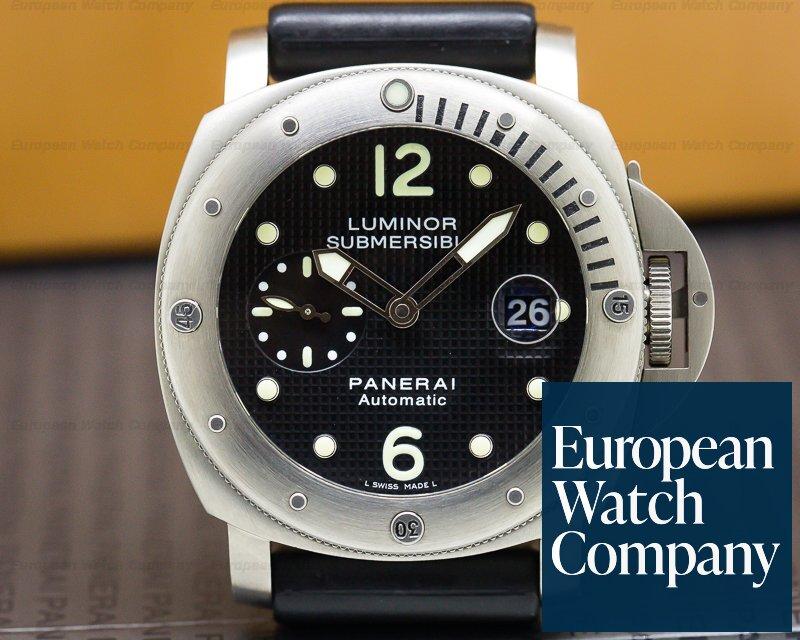 Panerai PAM00025 Luminor Submersible Titanium / Rubber