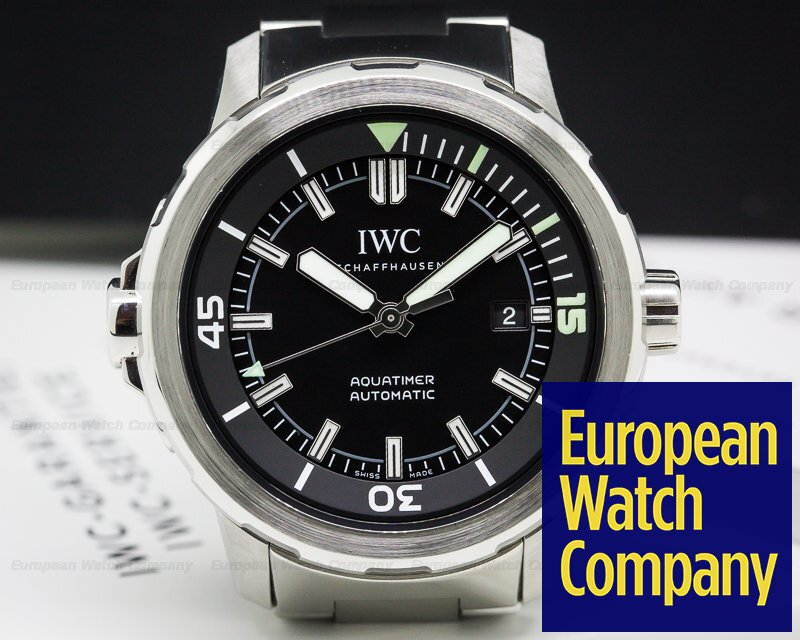 IWC IW329002 Aquatimer Automatic Black Dial SS / SS