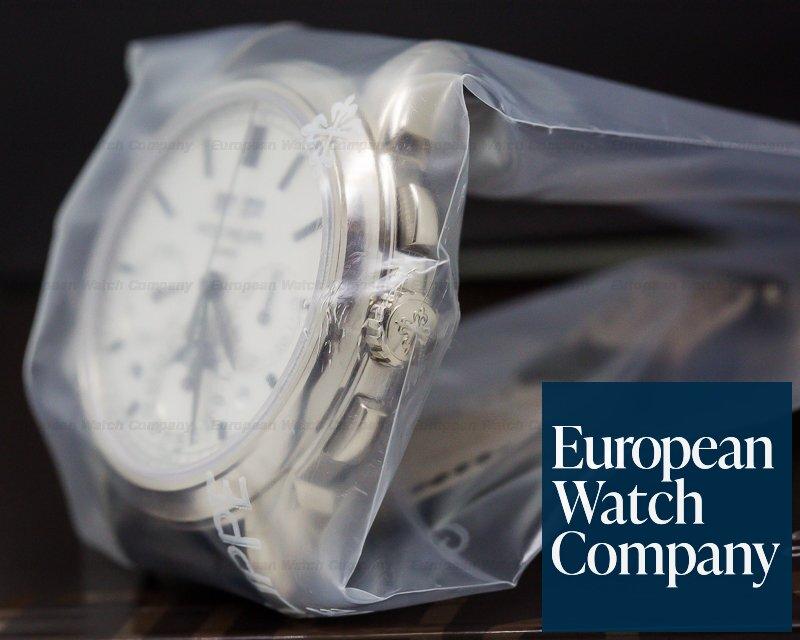 Patek Philippe 5270G-001 Perpetual Calendar Chronograph 18K White Gold SEALED