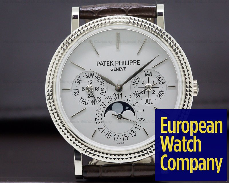 Patek Philippe 5139G-010 Perpetual Calendar Silver Dial 18K White Gold