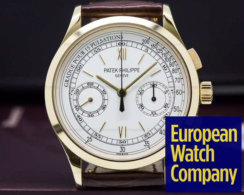 Patek Philippe 5170J-001 Chronograph 18K Yellow Gold Pulsation Dial