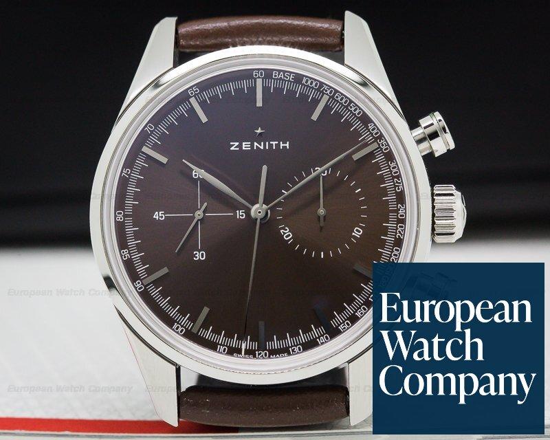 Zenith 03.2150.4069/75.c806 El Primero Chronomaster Heritage 146 Brown Dial