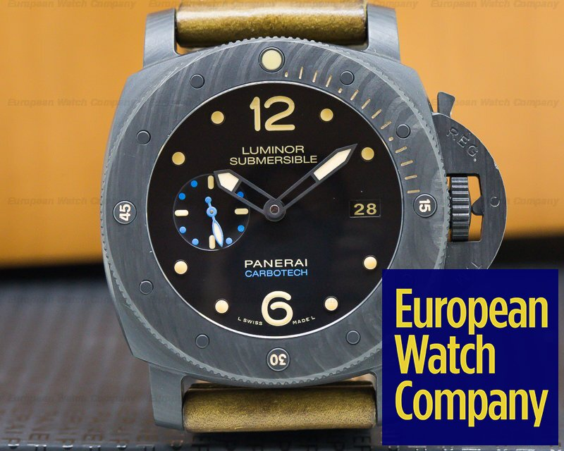 Panerai PAM00616 Luminor Submersible 1950 Carbotech 3 Days Automatic