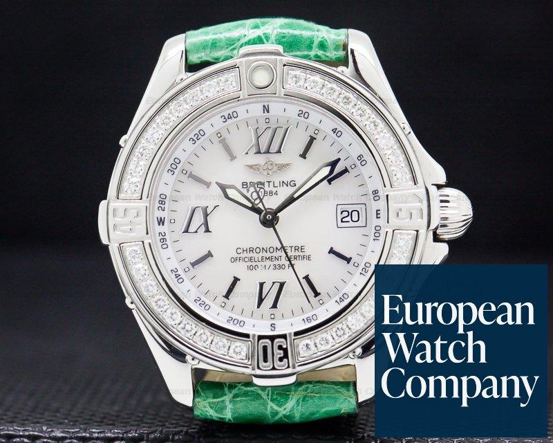 Breitling A71365 Callistino MOP Dial SS / Diamonds