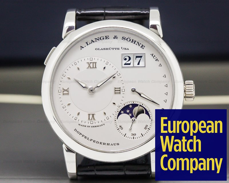 A. Lange and Sohne 109.025 Lange 1 Moon Platinum / Deployment Buckle