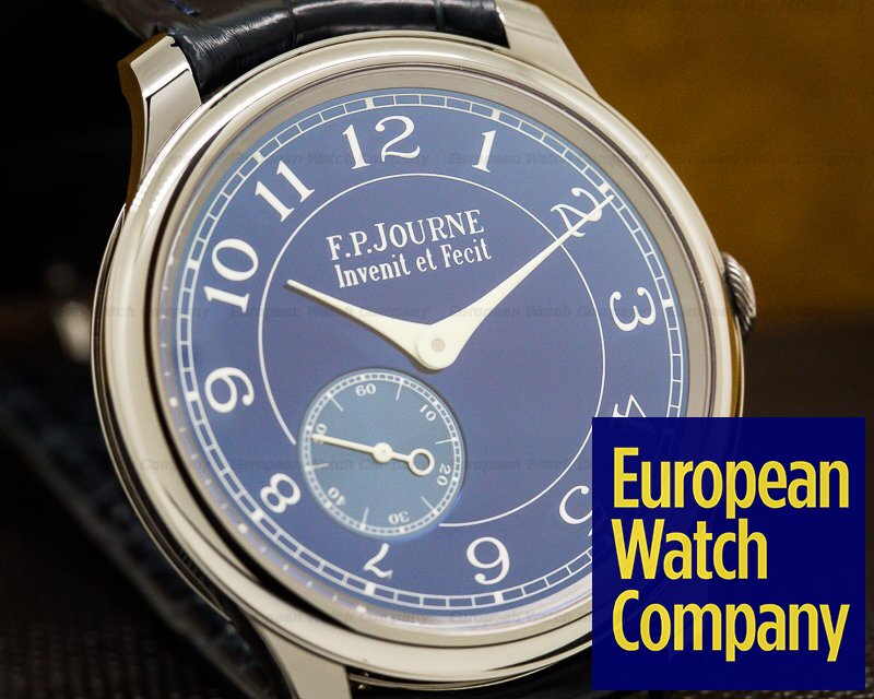 F. P. Journe Chronometre Bleu Tantalum Blue Dial UNWORN