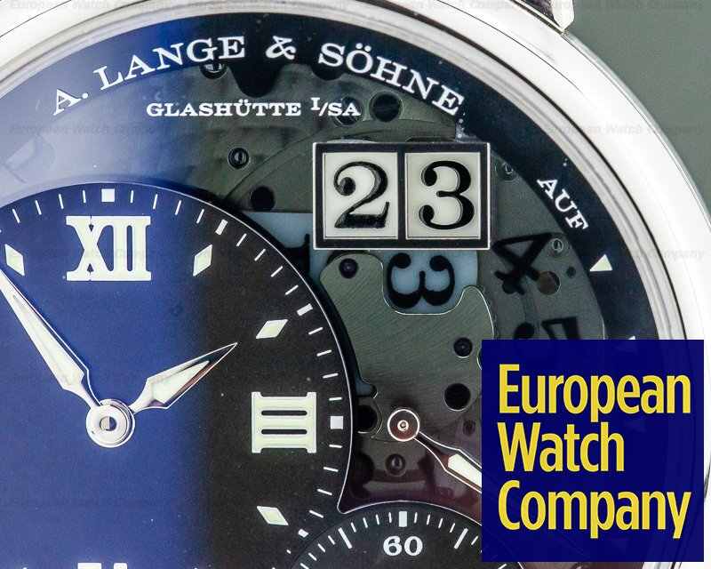 A. Lange and Sohne 117.035 Grand Lange 1 Lumen Platinum