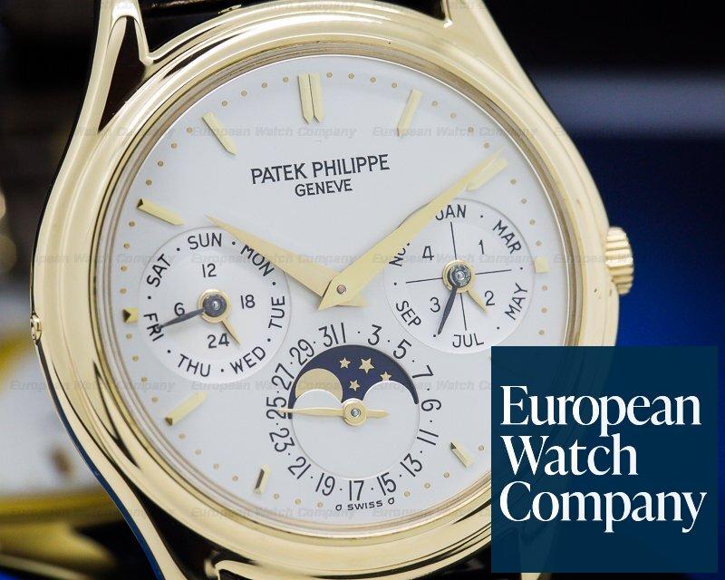 Patek Philippe 3941 Perpetual Calendar 18K Yellow Gold / Display Back