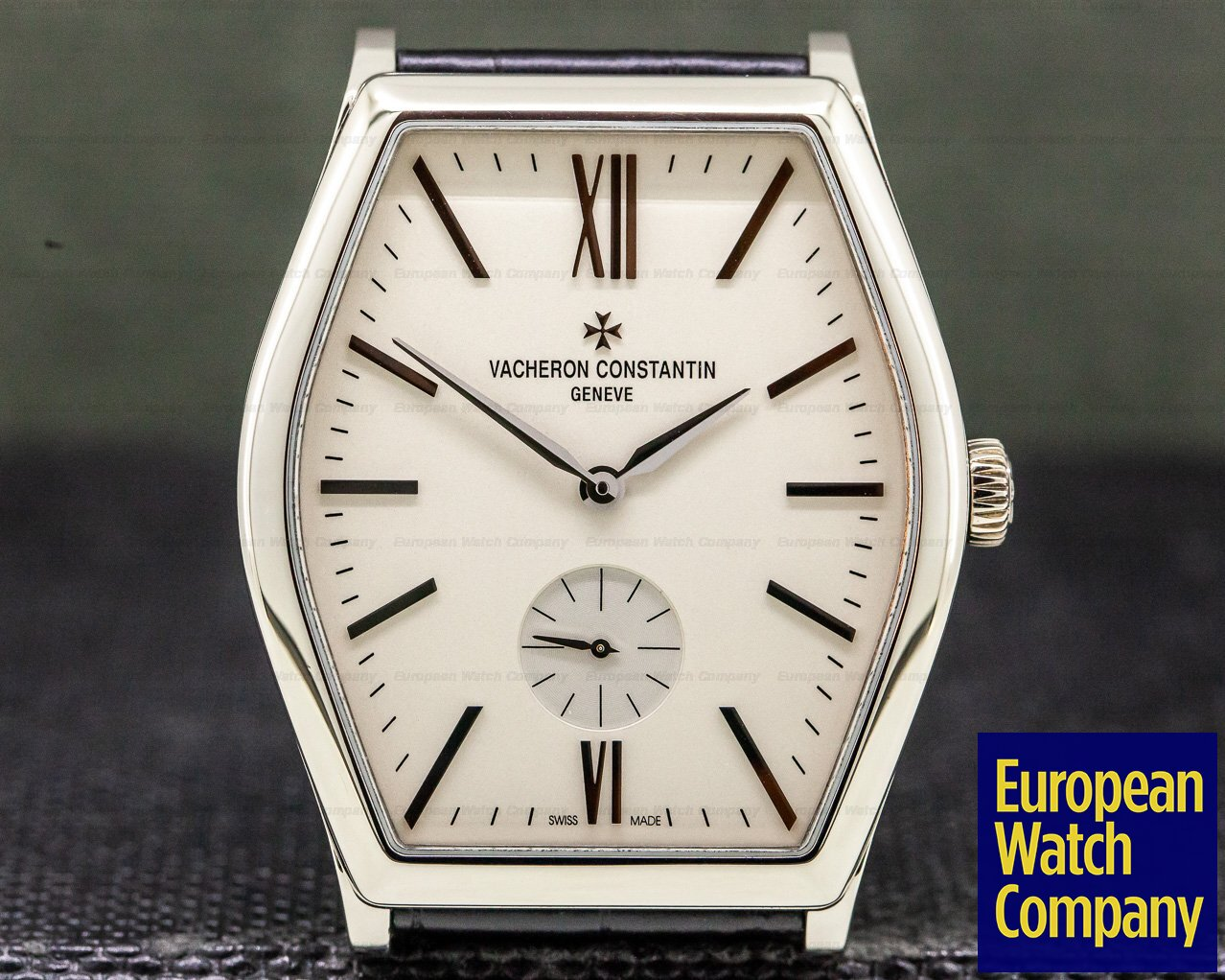 Vacheron Constantin 82230/000g-9962 Malte Small Seconds Manual Silver Dial 18K White Gold