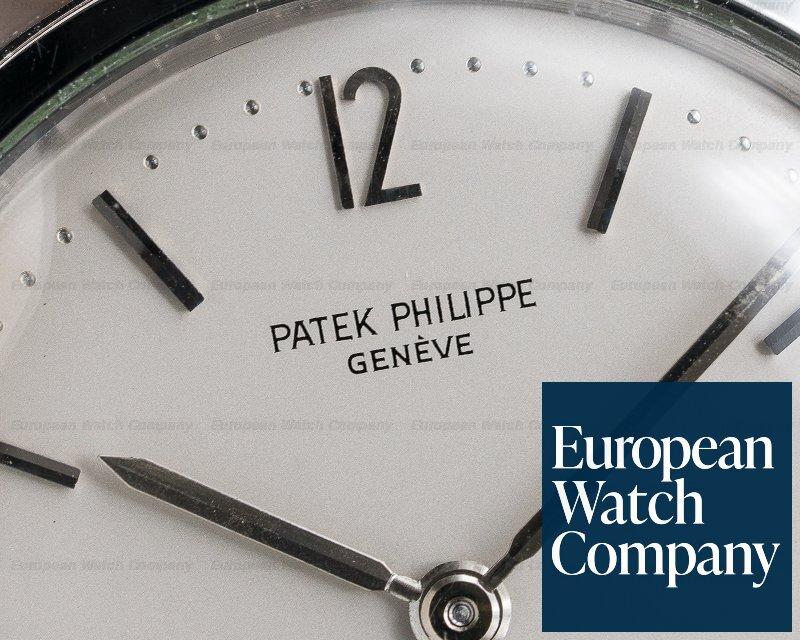 "Patek Philippe 3417 3417 Calatrava Anti Magnetic ""Amagnetic"" Stainless Steel Circa 1960s"