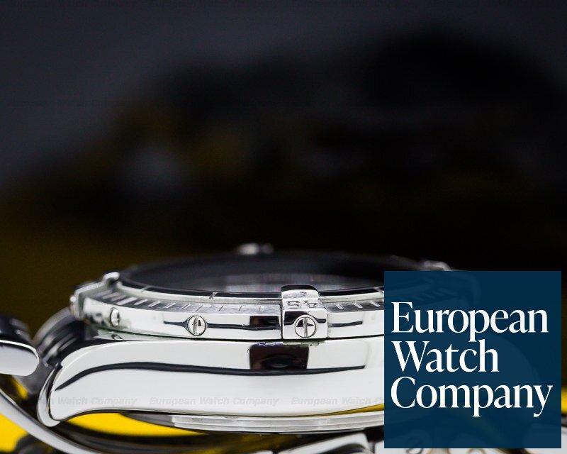 Breitling A13356 Chronomat Evolution Chronograph SS Black Dial