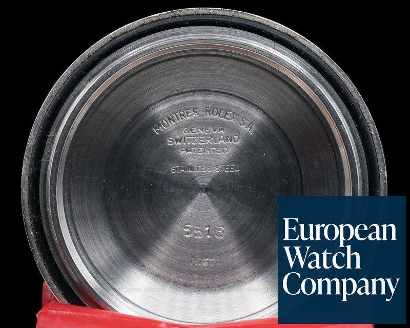 Rolex 5513 Vintage Serif Matte Dial Submariner GREAT PATINA