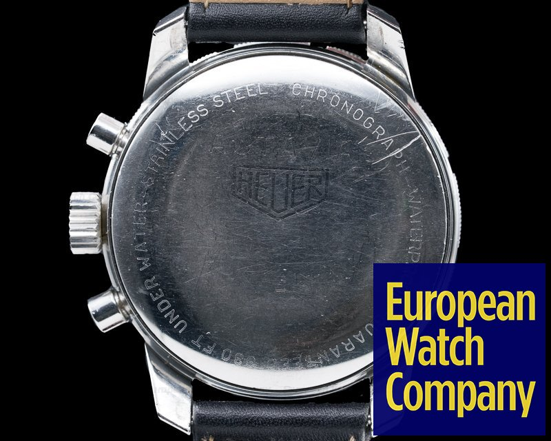 Heuer 7763 Vintage Autavia 7763 Chronograph Circa 1970