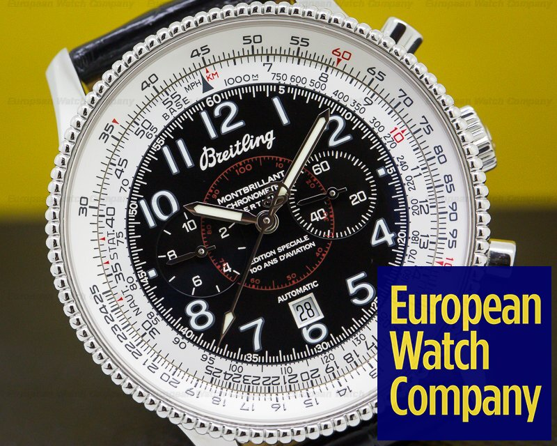 Breitling A35330 Navitimer Montbrillant 1903 Anniversary Special Edition SS