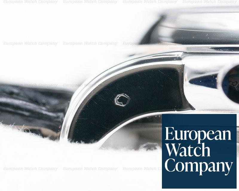Patek Philippe 3970P-019 Perpetual Calendar Chronograph Platinum Black Dial + Diamond Dial