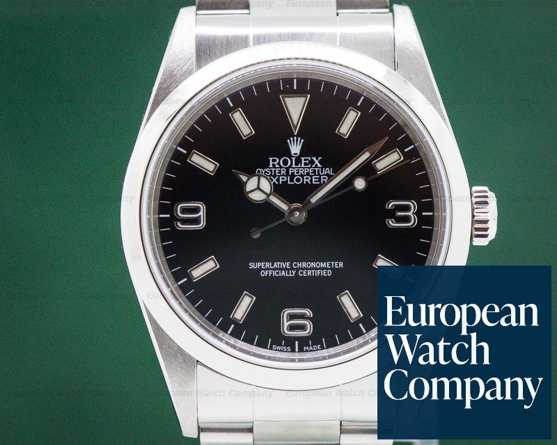 Rolex 14270 Explorer I 36MM SS / SS