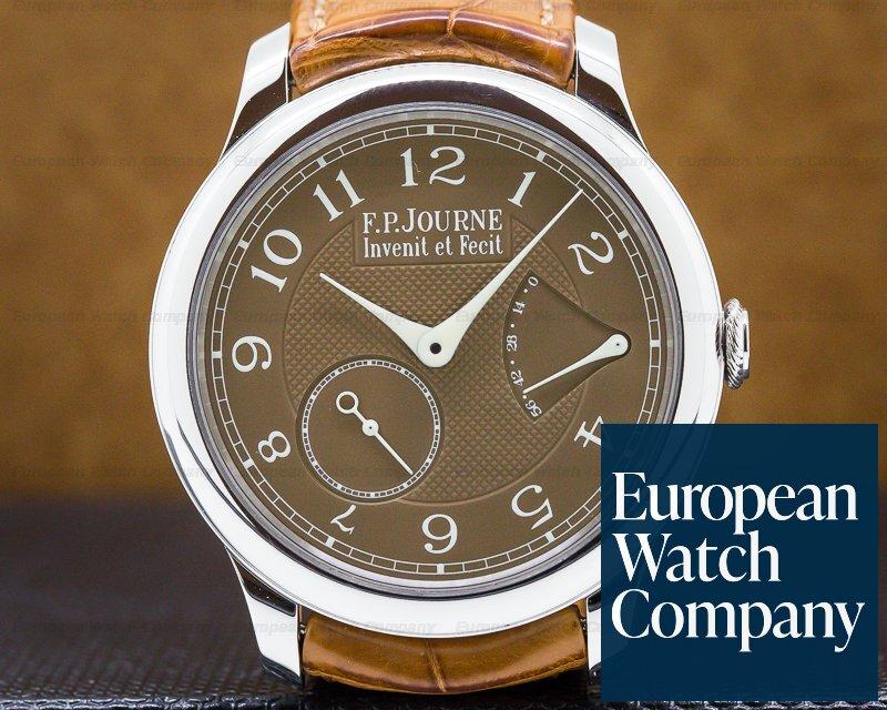 F. P. Journe  Chronometre Souverain Havana Platinum 40MM