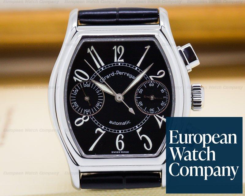 Girard Perregaux 2750 Richeville Chronograph Steel / Black Dial