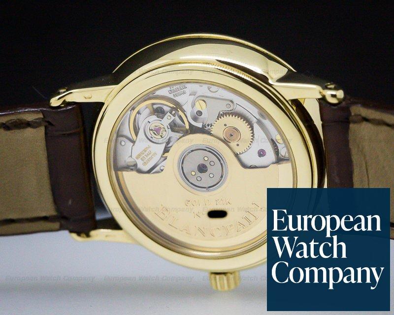 Blancpain 4795-1418-58 Lady Villeret 18K Yellow Gold 28MM